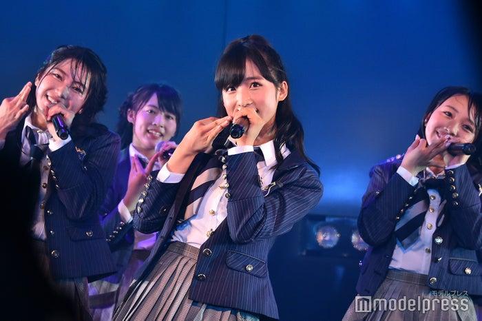 横山由依、小栗有以、向井地美音/AKB48岡部チームA「目撃者」公演(C)モデルプレス