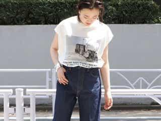 Tシャツ×パンツの今年っぽな着こなし13選|マンネリしがちな定番コーデをアップデート!