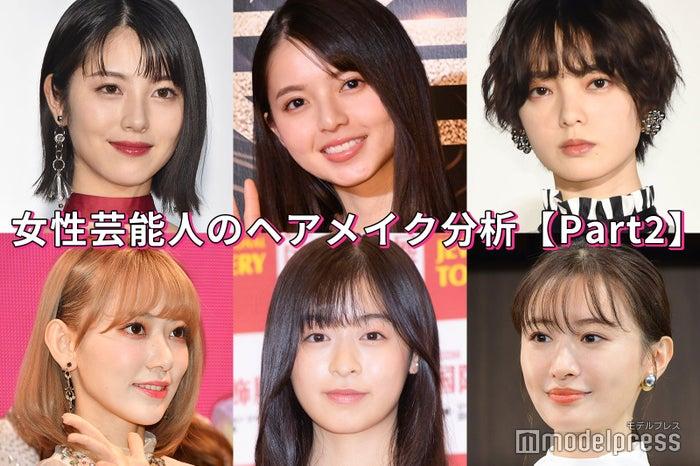 (左上から)浜辺美波、齋藤飛鳥、平手友梨奈(左下から)宮脇咲良、森七菜、松本まりか (C)モデルプレス