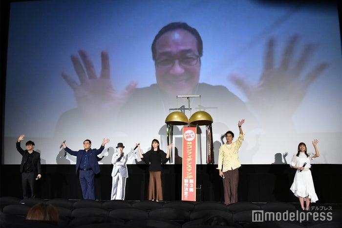 田中亮監督、小手伸也、長澤まさみ、東出昌大、関水渚 (C)モデルプレス