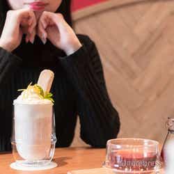 スイーツ感覚で飲める「チーズクリームサプライズ」(C)モデルプレス