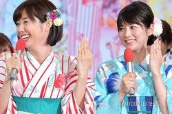 新婚・フジ山崎夕貴アナ&竹内友佳アナ、揃って結婚指輪を披露