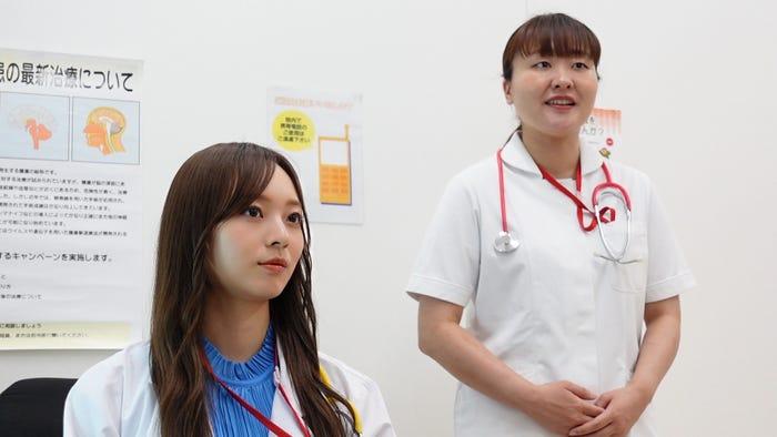 梅澤美波、吉住(C)日本テレビ