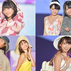 「ラストアイドル」ファミリー、関コレ占拠 肌見せファッションで笑顔弾ける<関コレ2018S/S>