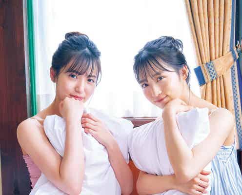 AKB48小栗有以&下尾みう、仲良しグラビア タンクトップ姿で美肌チラリ
