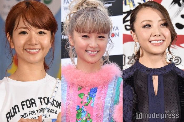 Aya、Ami、Shizuka (C)モデルプレス