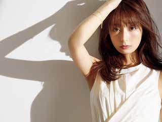 宇垣美里、初表紙で透き通る美貌 近況明かす