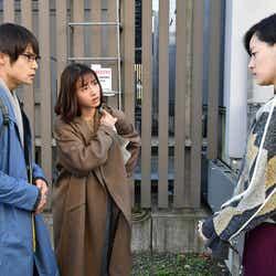 窪田正孝、石原さとみ、市川実日子/「アンナチュラル」第6話より(C)TBS