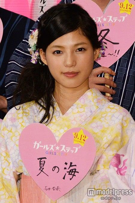 主演のE-girls・石井杏奈