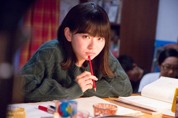 山田杏奈/新CMメイキングカット(提供画像)