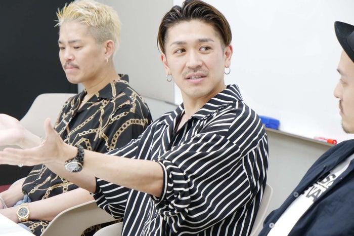 (左から)YUICHIRO、TAKA、KEISEI