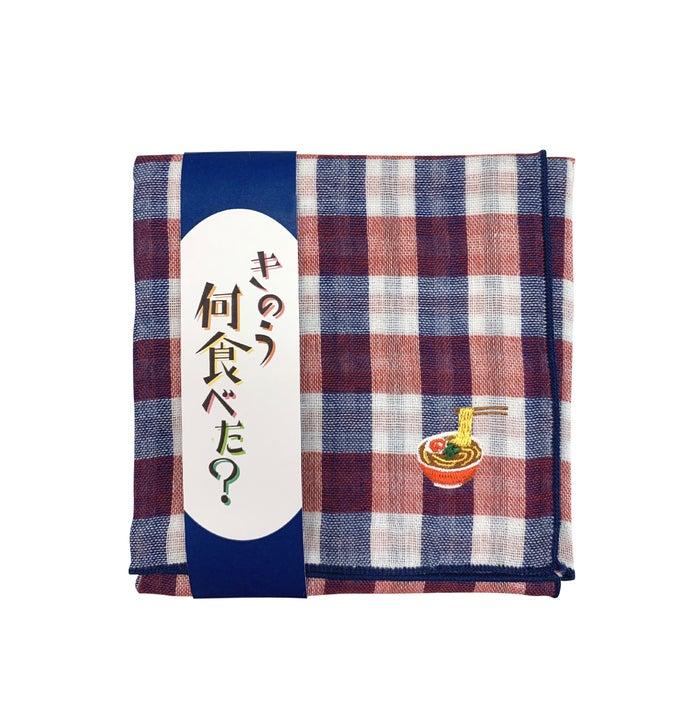 ラーメンガーゼハンカチ 1,000円(税別)/画像提供:パルコ
