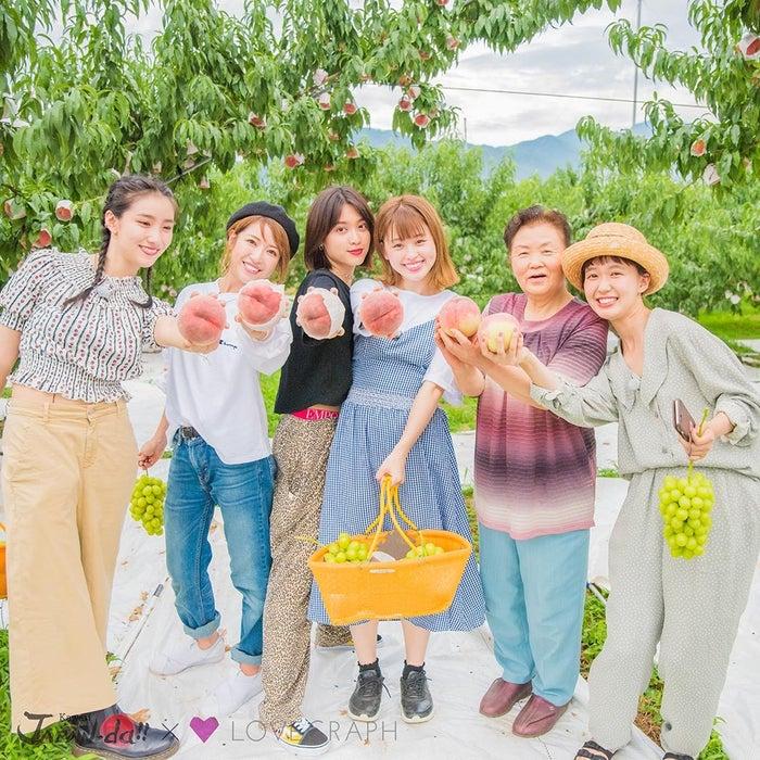(左から)中田クルミ、くみっきー、松本愛、やのあんな、けさえさん、柴田紗希(写真提供:MBS)