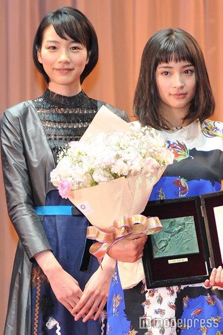 広瀬すず、能年玲奈は「ずっと好きな方」\u201c共演\u201dに歓喜 , モデル