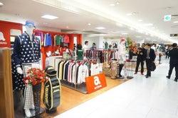 JR名古屋高島屋 ゴルフウェア売り場を大規模改装