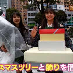 いちきゃん、ありぽん/「第3次Popteenカバーガール戦争」(C)AbemaTV