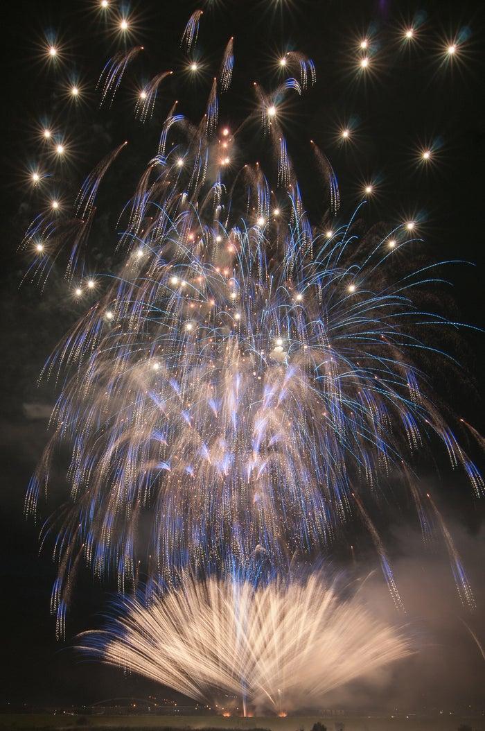 約12,000発もの花火が夜空を染める/画像提供:東京花火大祭制作委員会