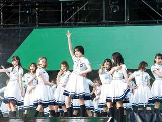 欅坂46初の野外ワンマンライブ「欅共和国」映像化決定