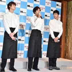 宮沢氷魚、清原翔、鈴木仁 (C)モデルプレス