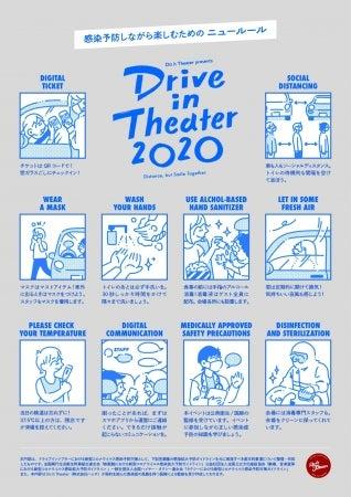 ドライブインシアター2020/画像提供:Do it Theater