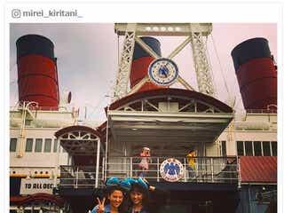 話題の桐谷美玲&河北麻友子、ディズニーでの「指名」エピソードにも反響「居合わせたい」 コンビ名も決定