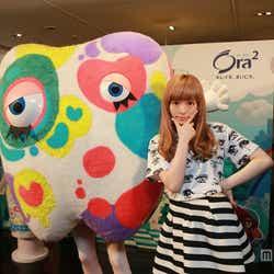 台湾にて開催されたイベントに出席した、きゃりーぱみゅぱみゅ