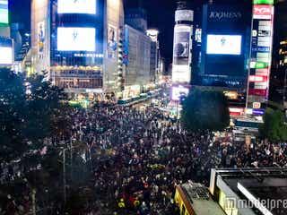 渋谷で年越し初「歩行者天国」 最大規模の警戒に