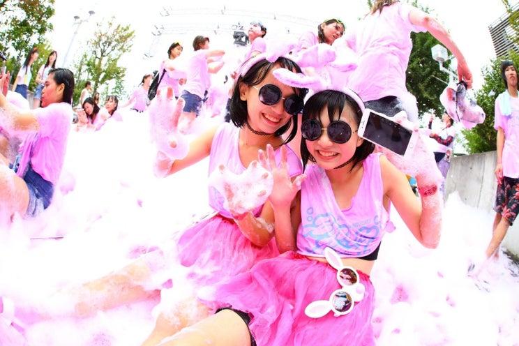 JCJK限定バブルラン「あわーず」東京&大阪で初開催 バンダリ亜砂也も出演