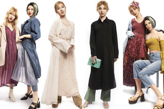 2020年春夏流行ファッションは?TGCがトレンドアイテム&スタイリングを発表(提供写真)