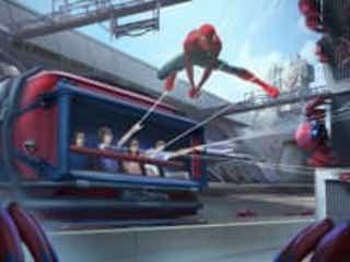 ディズニー『スパイダーマン』ライドアトラクションお披露目!トム・ホランドが紹介