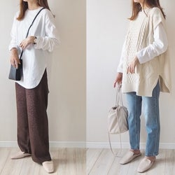 【GU】これ買って正解!春まで着倒せる「ロングTシャツ」は白が超優秀