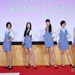 左から:堀内敬子、安藤サクラ、ベッキー、江角マキコ、本田翼、森カンナ