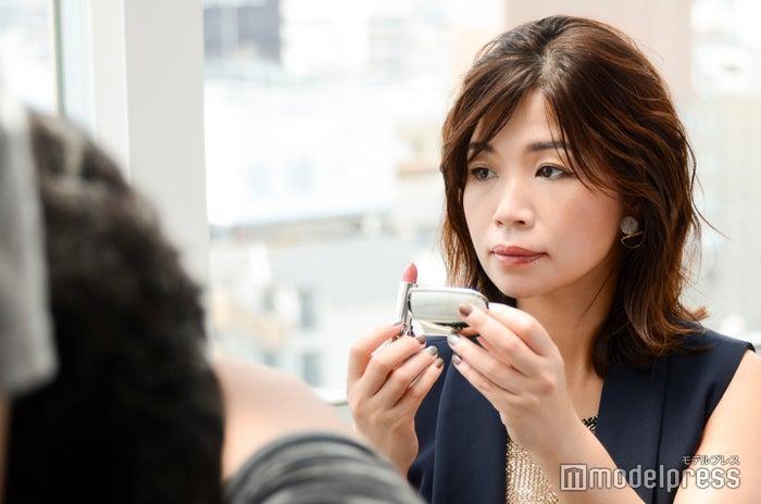 動画撮影の様子/大久保佳代子(C)モデルプレス
