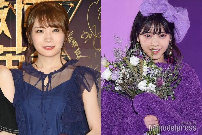 (左から)秋元真夏、西野七瀬 (C)モデルプレス