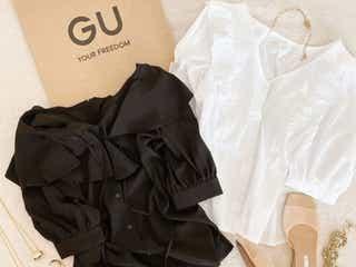 こんなに可愛いなんて反則だよ…!お洒落さんがGUで買った♡美人見え「シャツ&ブラウス」6選