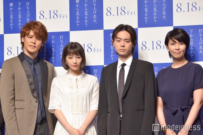 宮野真守、広瀬すず、菅田将暉、松たか子 (C)モデルプレス