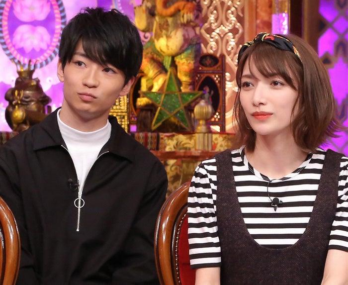 後藤真希と溺愛する甥っ子 (C)日本テレビ