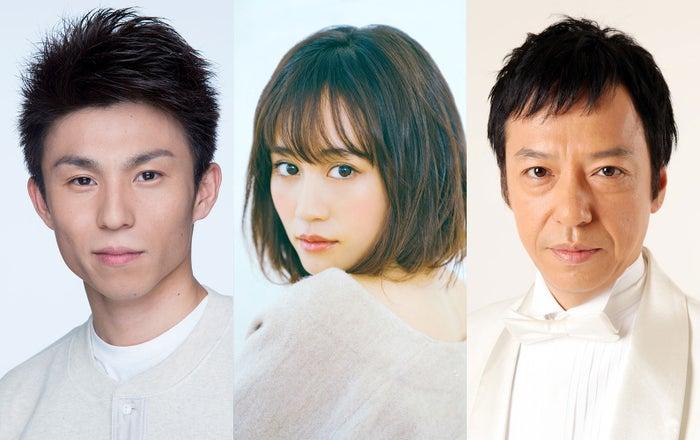 (左から)中尾明慶、前田敦子、板尾創路(提供写真)