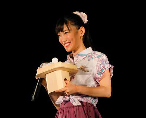 ももクロ高城れに、沖縄・世界遺産で熱唱<「ハイサイれにちゃん」セットリスト&写真>