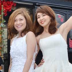岩堀せり(左)、SHIHO(右)