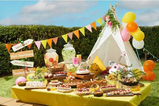 Girl's Sweets Camping/画像提供:ホテルマネージメントジャパン
