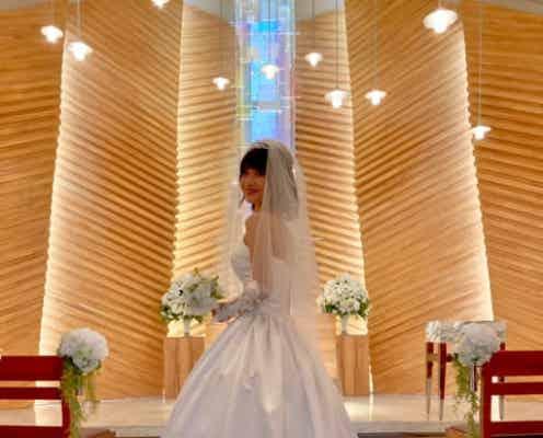 大浦龍宇一、妻・ゆりえとウェディングフォトを撮影「泣いてしまいそうでした」