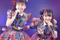鈴木くるみ、田口愛佳/AKB48柏木由紀「アイドル修業中」公演(C)モデルプレス