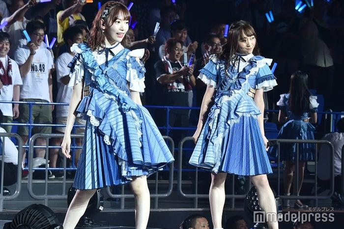宮脇咲良、須田亜香里「AKB48グループ感謝祭~ランクインコンサート~」 (C)モデルプレス