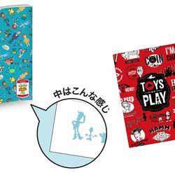 B5ノート Vol.1 全1種  600円、ケース付きレターセット 全1種  800円(C)Disney/Pixar(C)POOF-Slinky,LLC