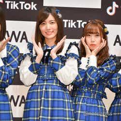 (左から)日高優月、松井珠理奈、高柳明音、竹内彩姫 (C)モデルプレス