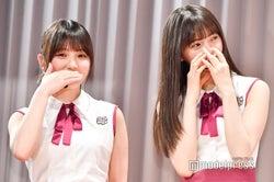 イベントに出席した与田祐希、齋藤飛鳥 (C)モデルプレス