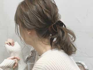 プラス後れ毛が鍵♡色っぽポニーテールのつくりかた♪