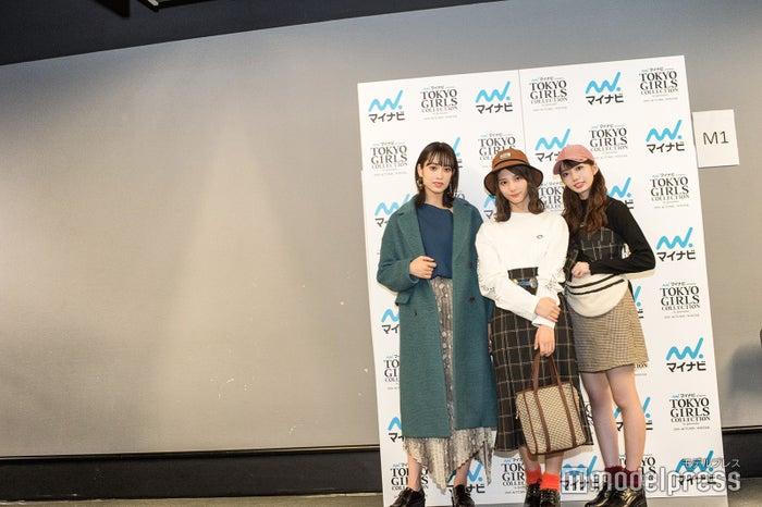 佐々木久美、小坂菜緒、高本彩花(C)モデルプレス