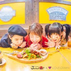 (左から)松本愛、くみっきー、椎名ひかり(写真提供:MBS)